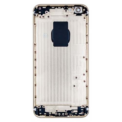 sports shoes 18502 56394 iPhone 6s Plus rear housing no parts with logo - Gold