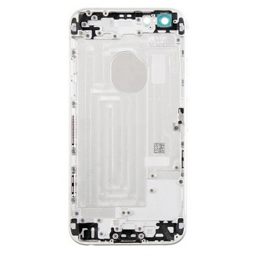 sports shoes 3c34a 45885 iPhone 6s Plus rear housing no parts with logo - Silver