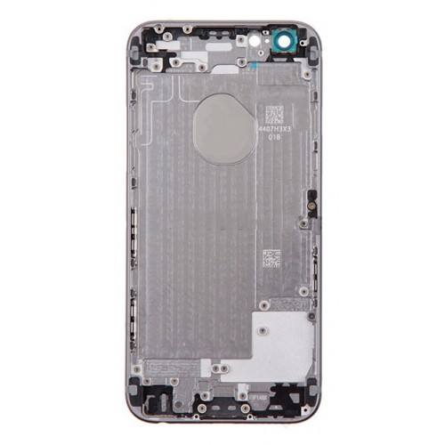 brand new 72397 49b60 iPhone 6s rear housing no parts with logo - Space Grey